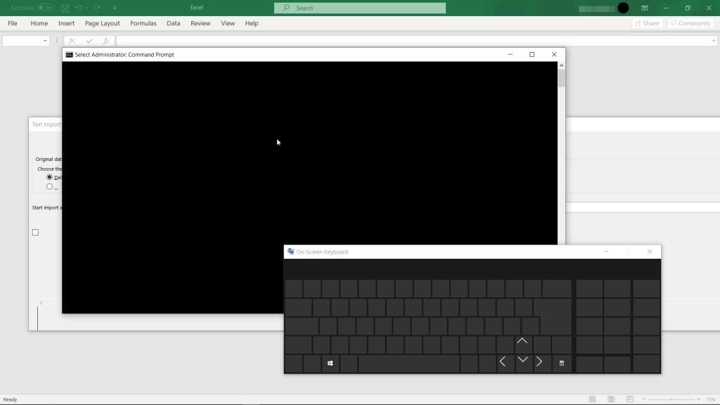 windows-10-qara ekran