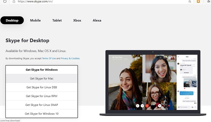 Skype  Videokonferenser Hämta version