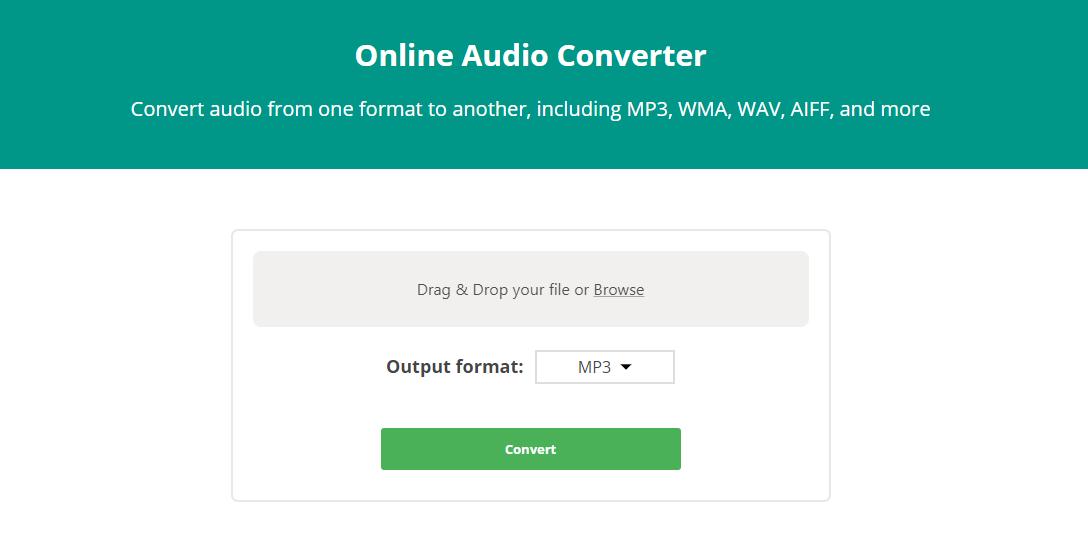 Hur man konverterar video och ljud online 1
