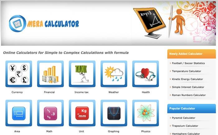 Làm thế nào sinh viên có thể tạo điều kiện cho tính toán của họ bằng meracalculator.com 2