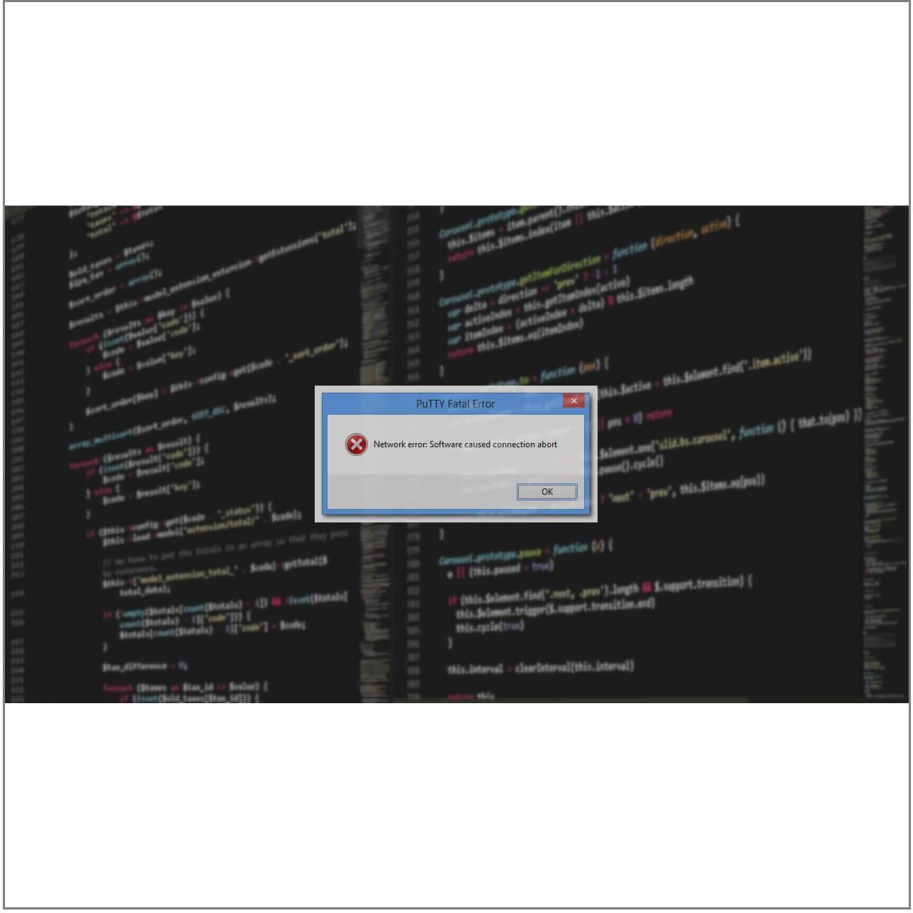 erreur fatale erreur de connexion réseau refusée