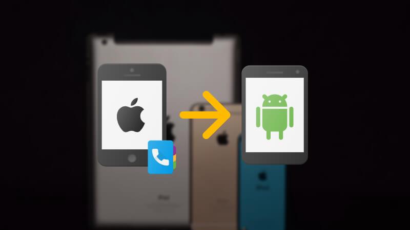 zəng qeydlərini iPhone-dan Android-ə kopyalayın