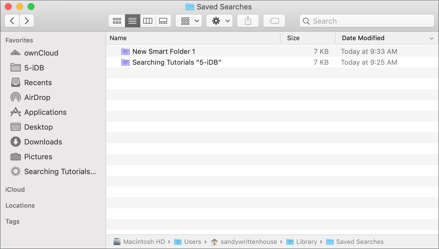 Kiat menghemat waktu untuk menggunakan fitur Pencarian Finder di Mac 1