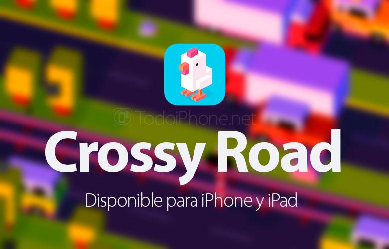 Crossy Road, game agility bergaya arcade untuk iPhone dan iPad 1