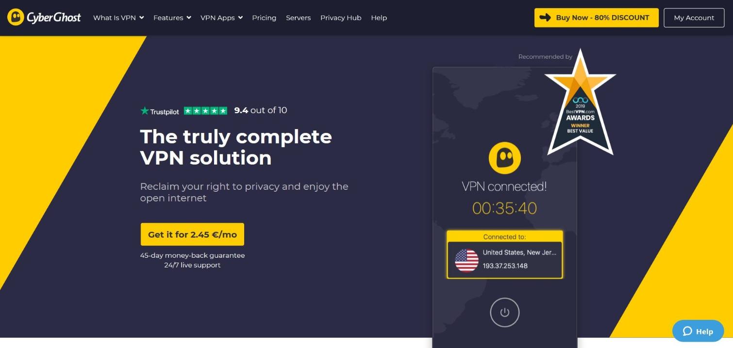 CyberGhost VPN Reviews: Bueno por dinero 2