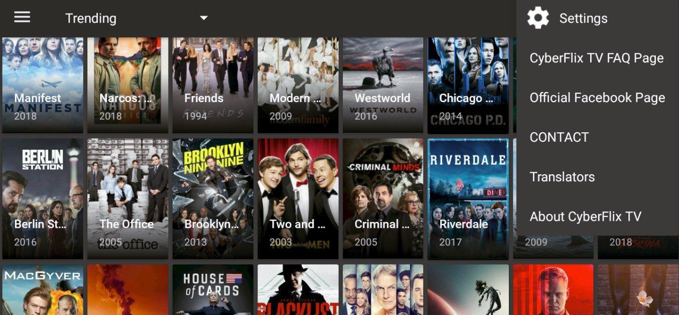 APK truyền hình Cyberflix 3.1.8 Dành cho Android (tải xuống tại đây) 1
