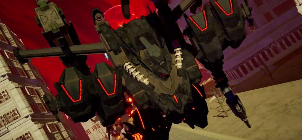 Daemon x Machina julkaisi sopivan dramaattisen japanilaisen lanseerauksen