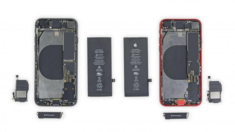 Derribar para revelar iPhone 8 Funciona con iPhone SE