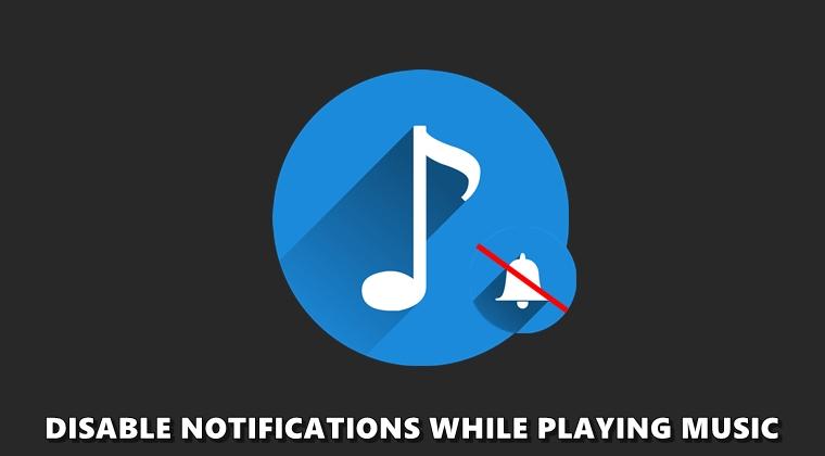 Sammuta ilmoitukset automaattisesti, kun kuuntelet musiikkia