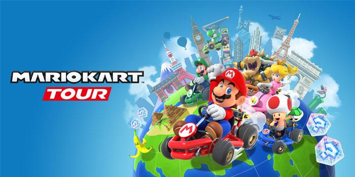 Pra-daftar di sini untuk menjadi yang pertama mengunduh Mario Kart Tour pada hari keberangkatan Anda