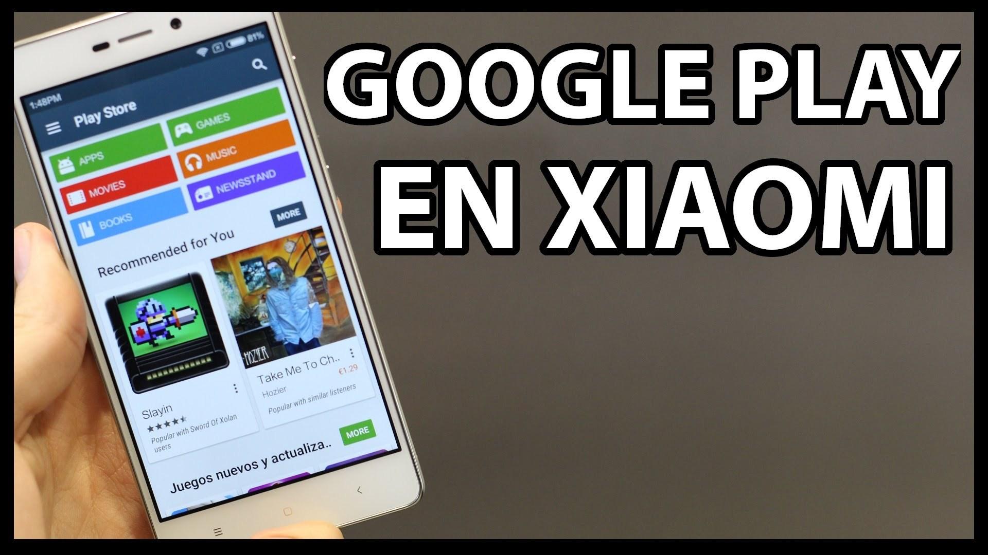 Temukan cara menginstal Play Store di Xiaomi 1