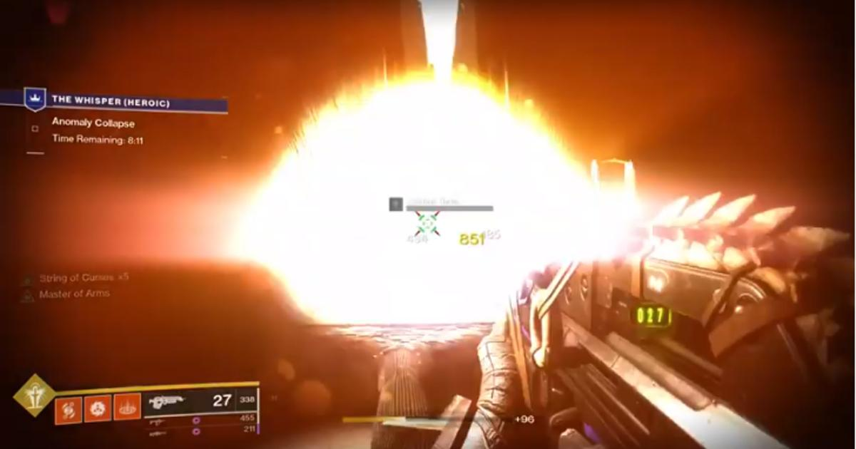 'Destiny 2:' Infinite Arc Staff super, tembakan meledak Bad Juju, dan kelelahan meriam tangan