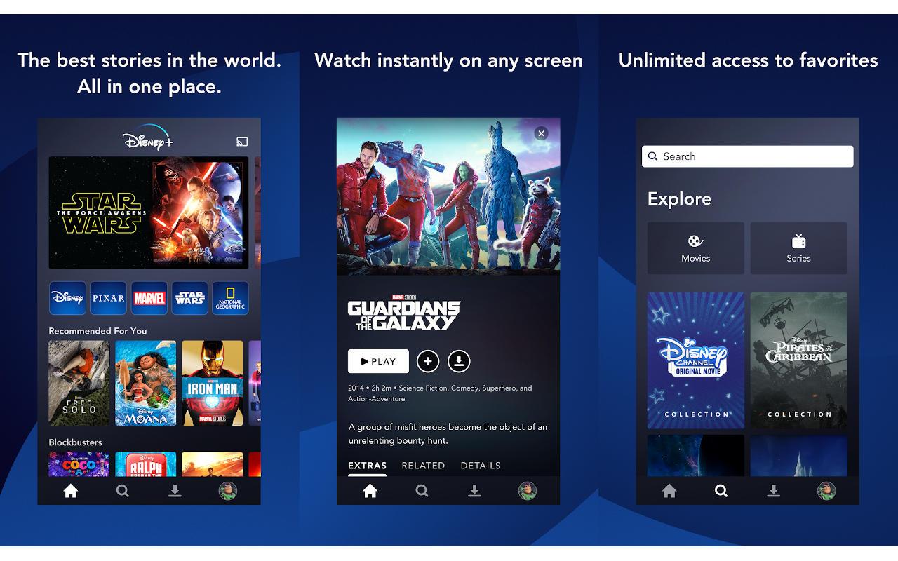 Disney + di Android diluncurkan lebih awal untuk Belanda