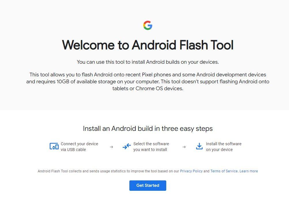 Perangkat Flash Android: Flash Android Dibangun di Google Pixel dan Perangkat AOSP