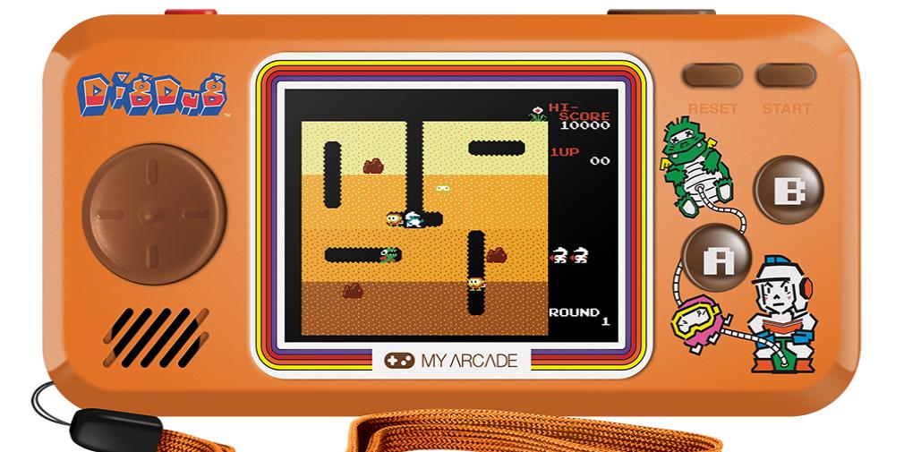 Lihatlah Bubble Bobble, Dig Dug, Rolling Thunder, konsol genggam, dan lemari mini arcade ini 1