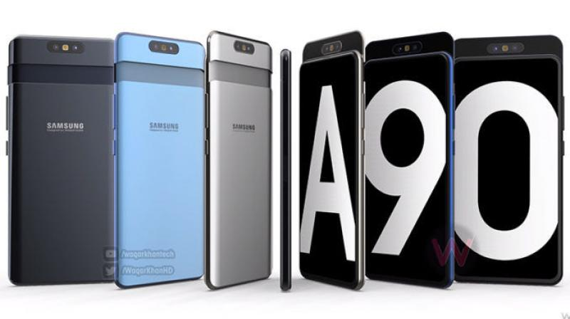 The Samsung Galaxy A90's 4G version on the other hand will be named SM-A905 and will also have a triple camera setup but with a different set of lenses. (Photo: WaqarKhanHD)