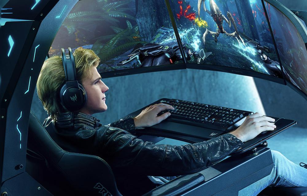 Rig monitor triple Immersive Acer Predator Thronos berharga $ 30.000