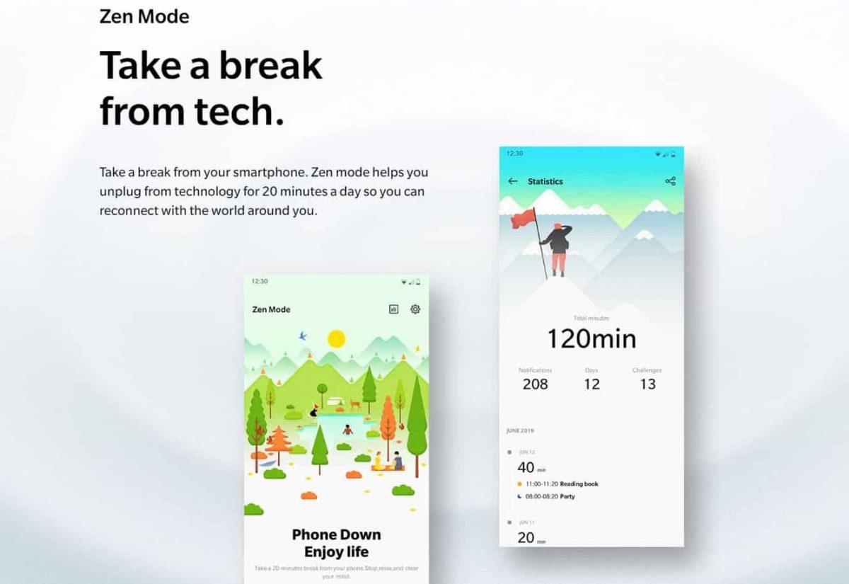 Mode Zen dari OnePlus sekarang tersedia di Google Play Store!