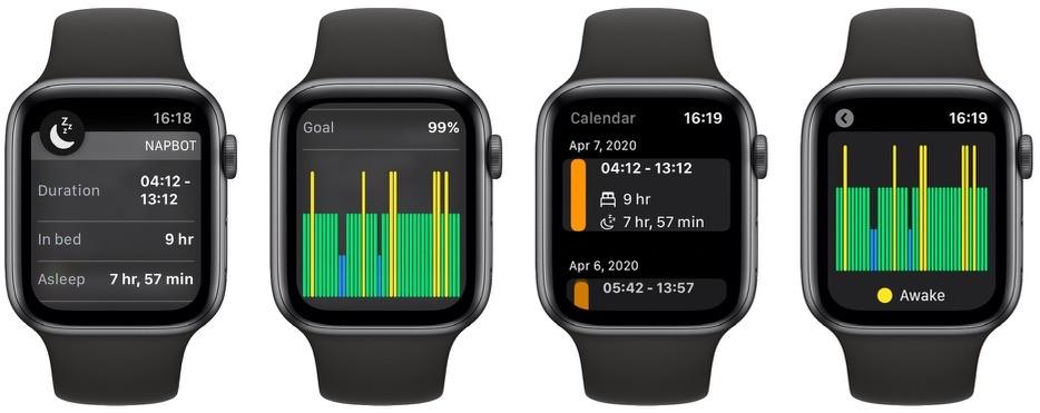 El rastreador de sueño NapBot obtiene navegación de calendario, notificaciones dinámicas y amp; otras nuevas características