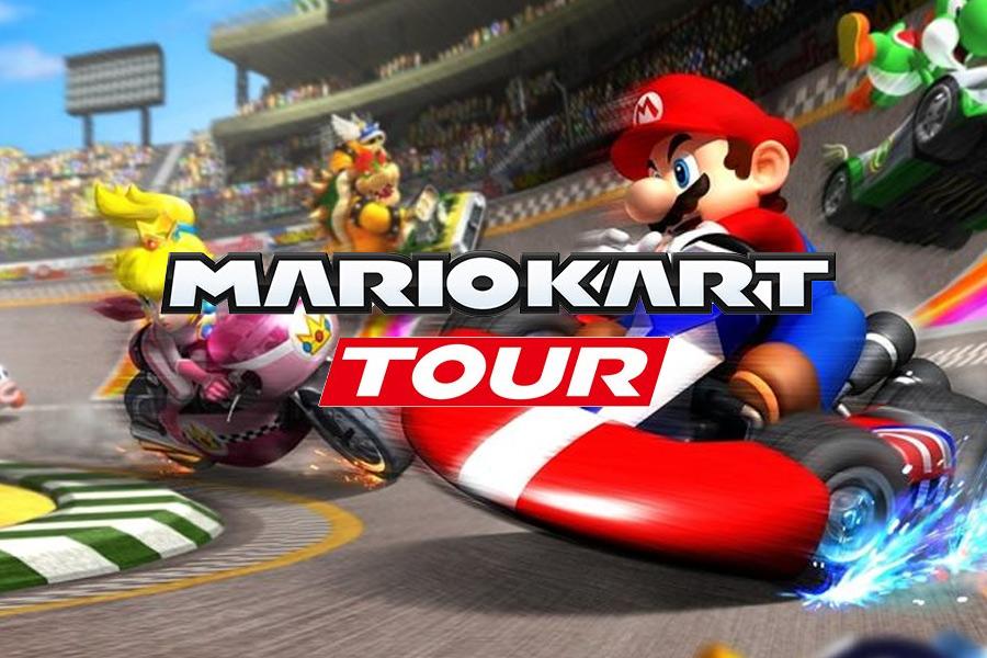 Tur Mario Kart tersedia untuk diunduh