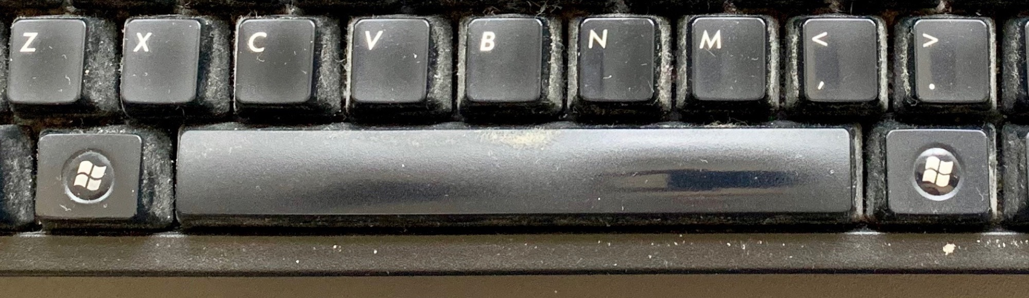 filthy spacebar zoom push to talk mute