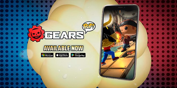 POP Gears! Gim untuk iOS dan Android yang menggabungkan kisah Gears of War dan Funko POP