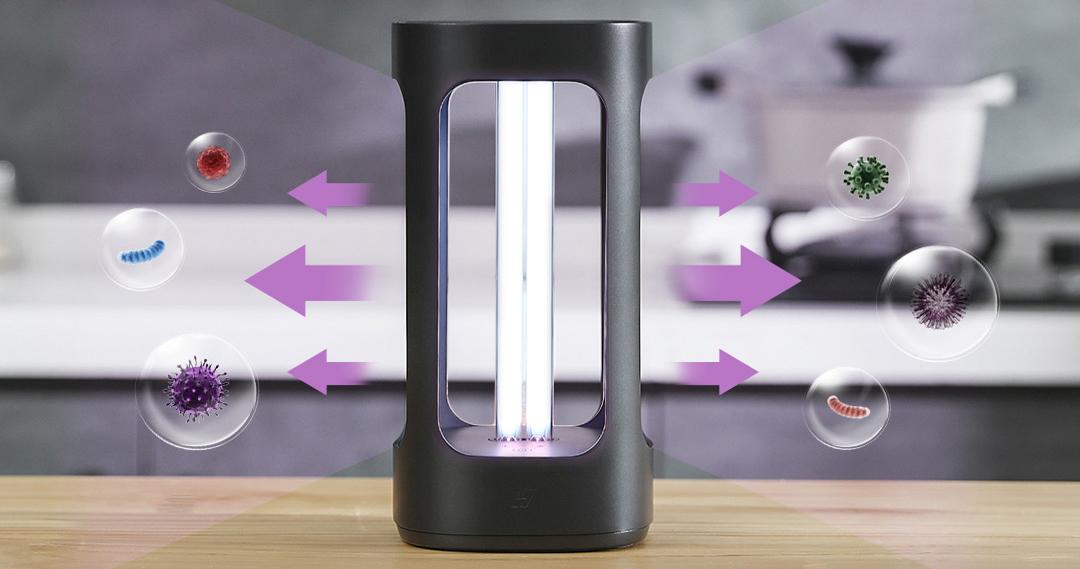Ini adalah lampu baru yang mampu menghilangkan virus dan bakteri dari rumah kami yang dijual Xiaomi di Youpin