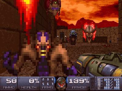 Mod Doom 2016 ini mengubah reboot modern menjadi game 90-an DOS