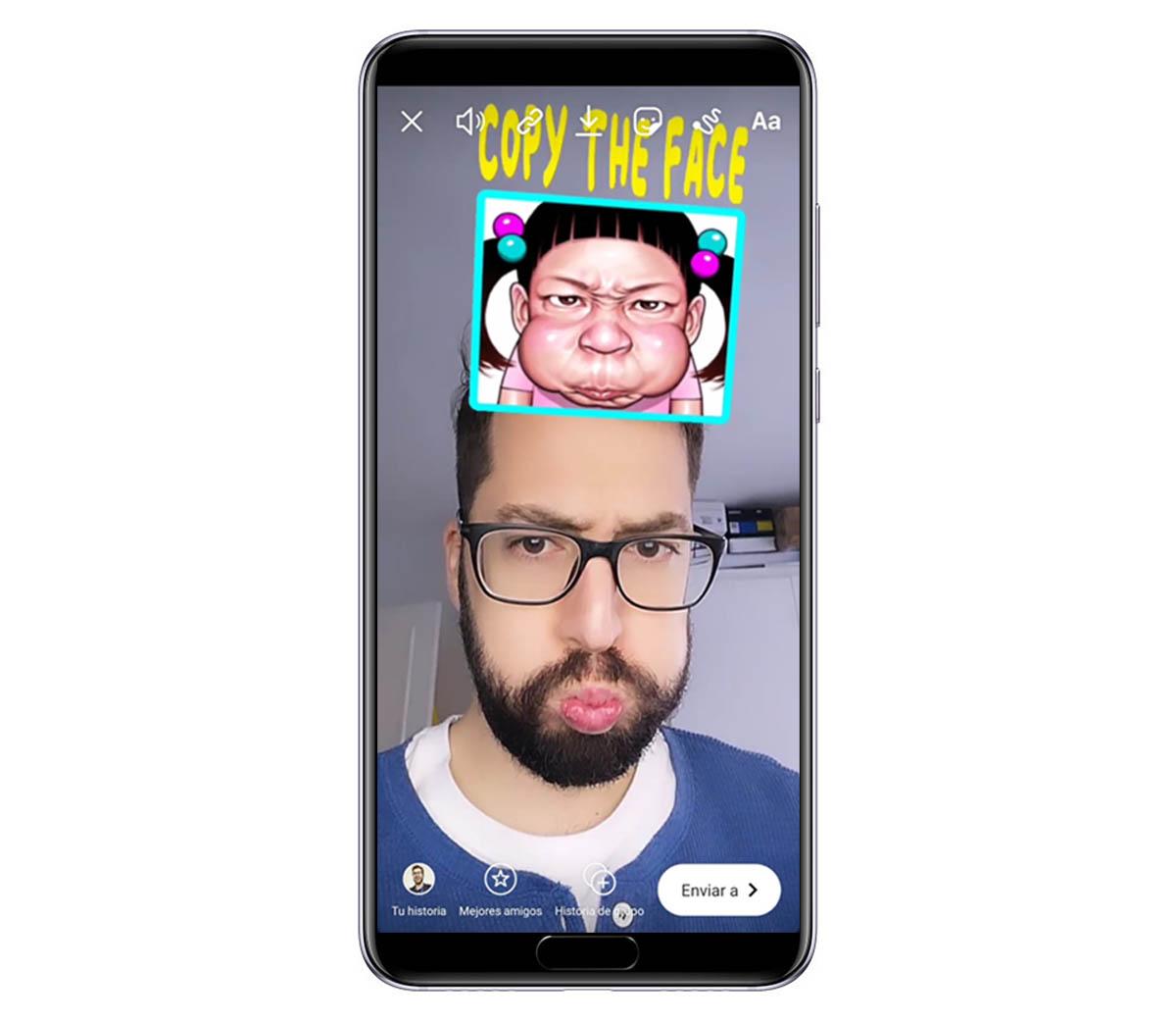 Este es el filtro Ugly Face Challenge que está triunfando en Instagram Stories