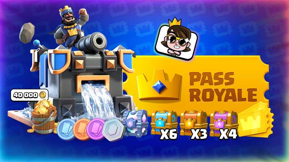 Ini adalah hadiah Pass Royale di musim 3 Clash Royale