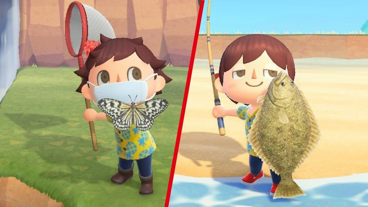 Evidencia: Animal Crossing: New Horizons: The Bugs and Fishermen Leaving Animal Crossing After March - Capture estos seres antes 1 abril