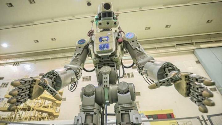 Android Rusia akan melakukan perjalanan ke ISS di pesawat ruang angkasa Soyuz