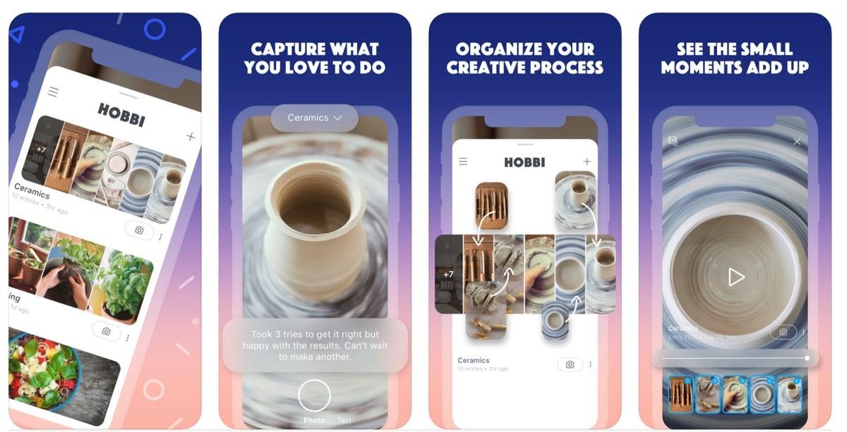 Facebook Suorita vaadittu Pinterest Uudella sovelluksella 'Hobbi'