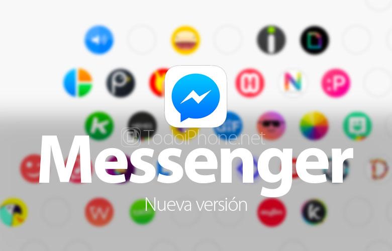 Facebook Messenger sekarang memungkinkan Anda untuk mengirim GIF dan menggunakan aplikasi lain 1