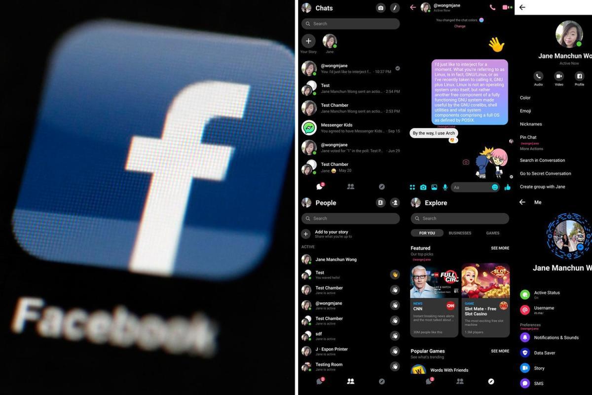 Facebook menguji 'Mode Gelap' Messenger BARU untuk mengirim pesan teks di malam hari - cara menemukannya