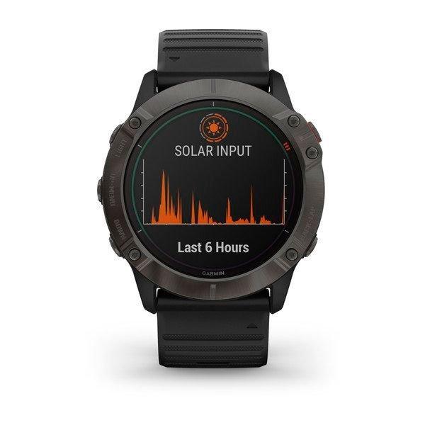 Fenix 6X Pro Solar, một chiếc đồng hồ thông minh được sạc bằng năng lượng mặt trời 3