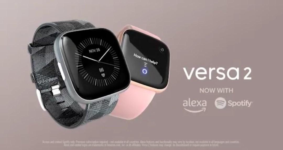 Fitbit Versa 2 Suodatettu Alexa- ja Spotify-integroinnilla
