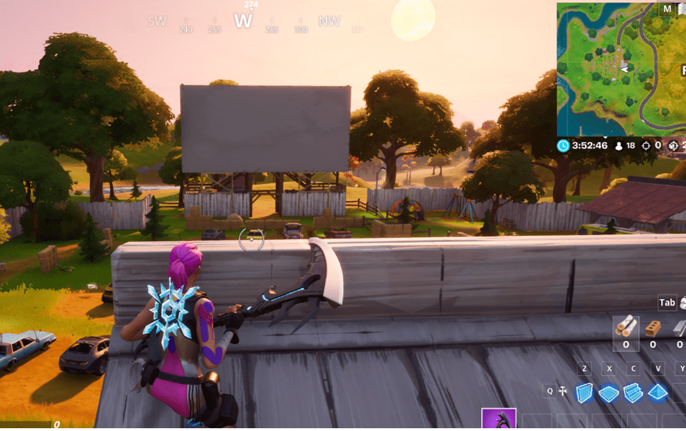 Fortnite  Dalam-Lokasi Game Movie Outdoor