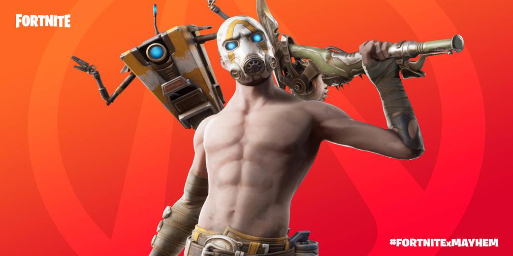Fortnite dan Gearbox bergabung untuk membawa acara crossover Borderlands ke Battle Royale 1