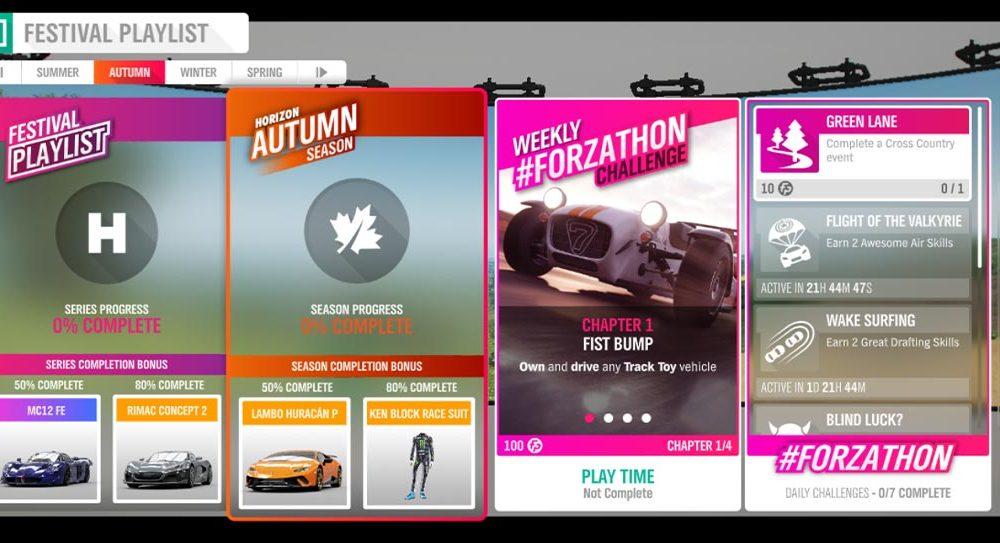 """Forza Horizon 4 #Forzathon 23-30 Januari: """"Waktu Bermain"""""""