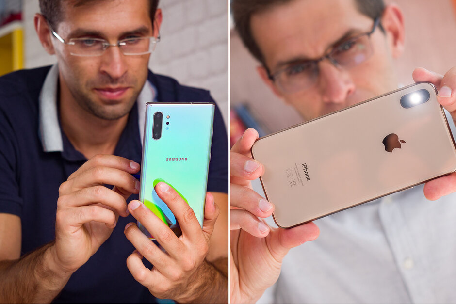 Galaxy Note  10+ kemenangan hampir tidak terhambat melawan iPhone XS Max dan Pixel 3 dalam perbandingan kamera