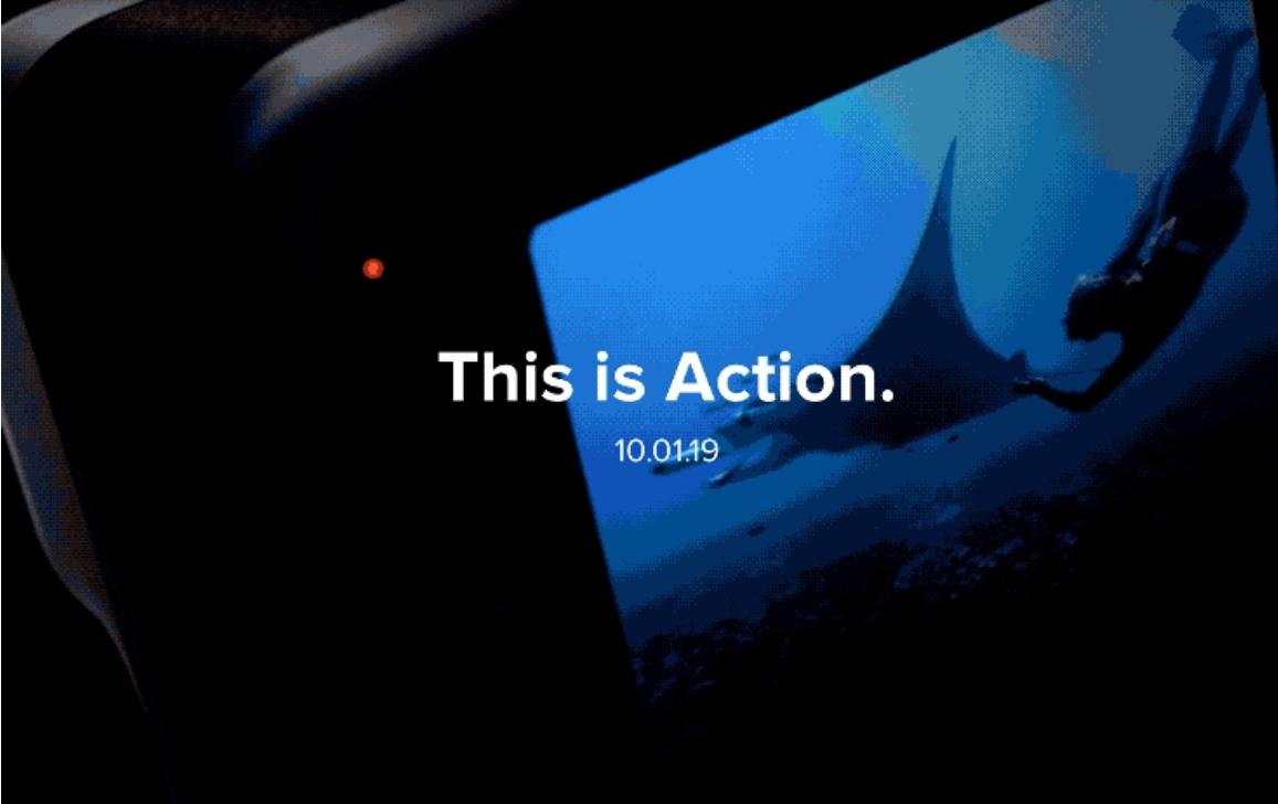 GoPro Menggoda Kamera Tindakan Generasi Selanjutnya; Pengumuman Datang Pada 1 Oktober 2019