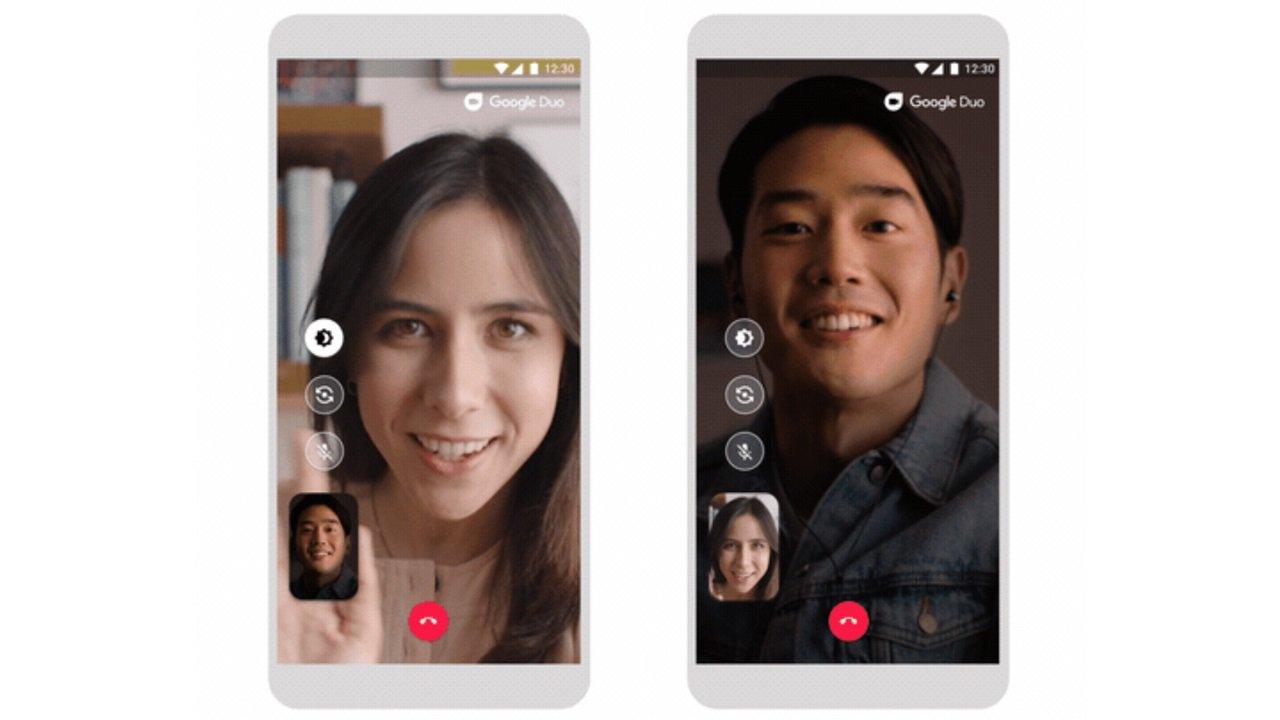 Google Duo Mendapatkan Mode Cahaya Rendah