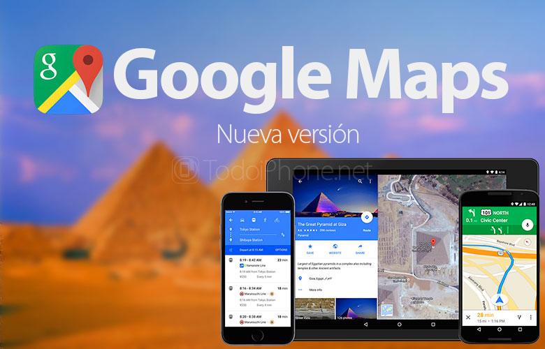 Google Maps sekarang memiliki tampilan layar penuh dan banyak lagi 1