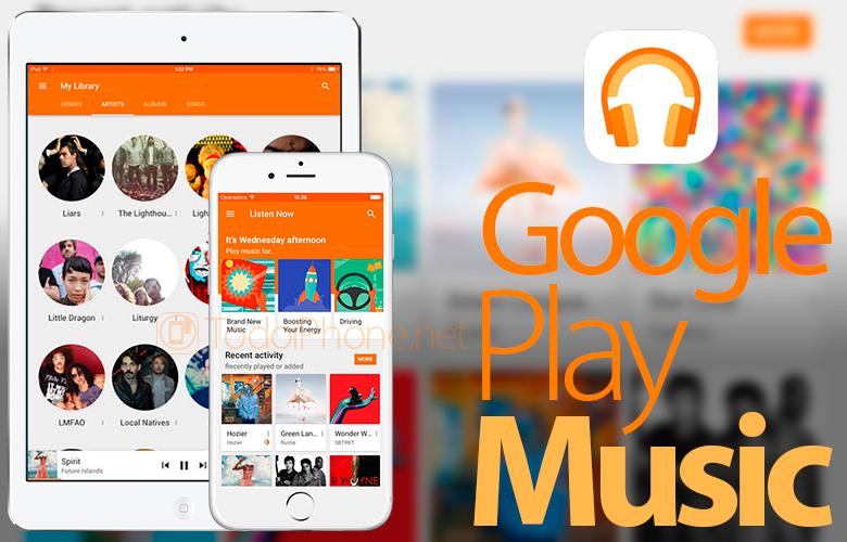 Google Play Music sekarang kompatibel dengan iPad 1