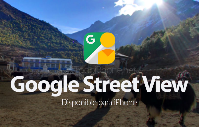 Google Street View on saatavana iPhonelle