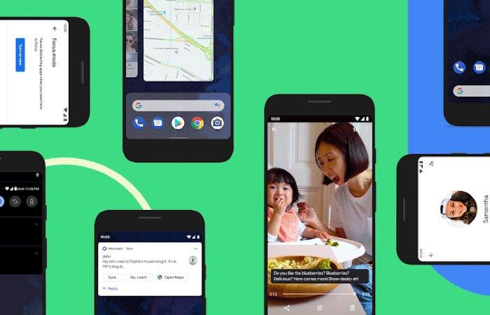 Google julkaisi Android 10: n