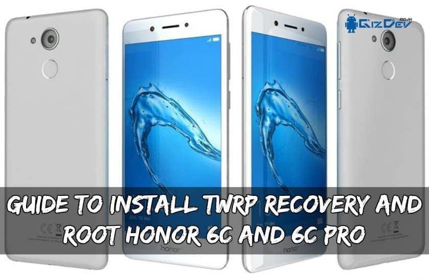 Opas TWRP: n ja Root Honor 6C: n ja 6C: n asennukseen …