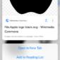 Habilite Peek and Pop en dispositivos que no son compatibles con Peekable