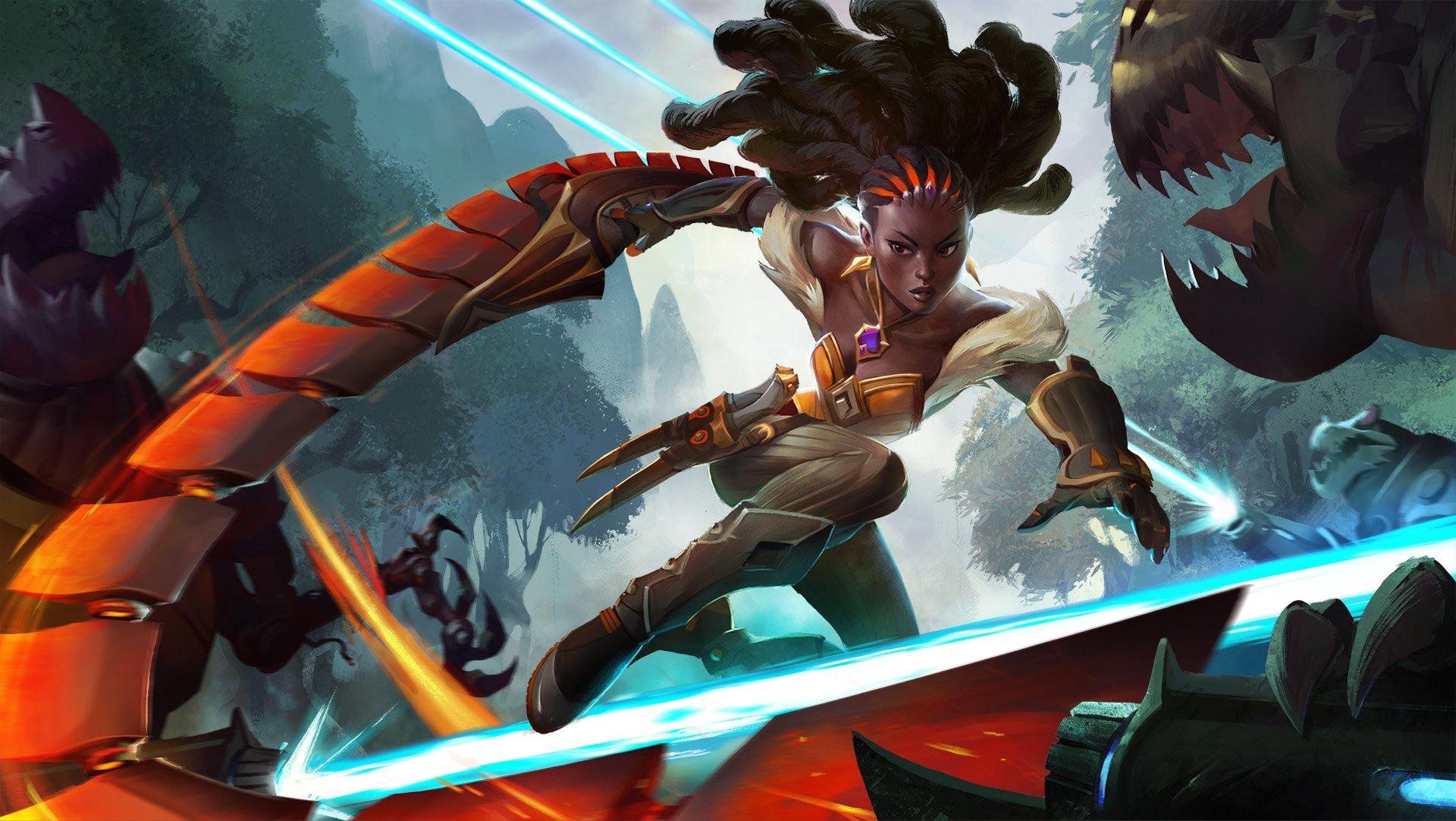 Heroes of the Storm mengungkapkan karakter asli Qhira 1